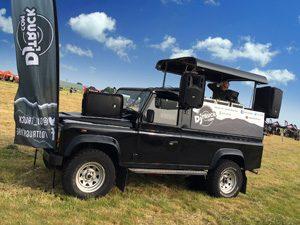 dj truck mobile sound system